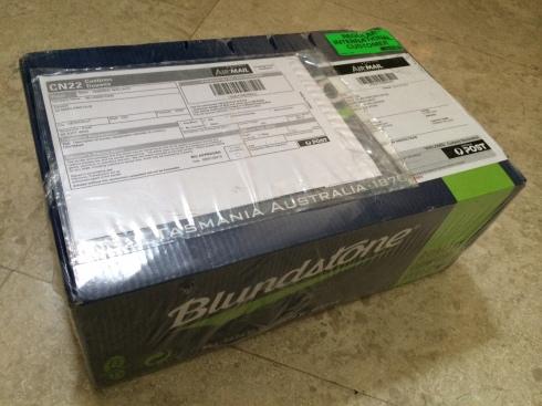 The parcel arrived!